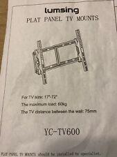 Lumsing 17� - 72� 130lbs Tilting Flat Panel Lcd/Led Tv Mount