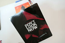 DON'T LOOK NOW - Glossy Steelbook Magnet Cover (NOT LENTICULAR)