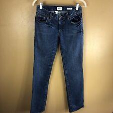 Madewell womens 26/32 Blue Medium Wash Slim Straight Leg Jeans