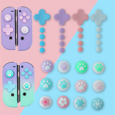 For Nintendo Switch Joy Con Cross Direction Key Trigger Button Thumb Grip Caps
