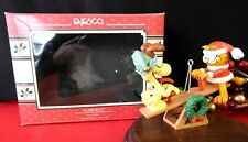 Enesco Garfield Ornament 1990 Joy Ridin Odie Teeter Totter Riding