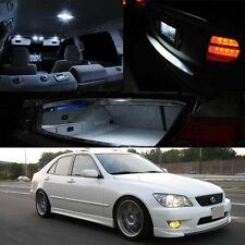 For 01-05 Lexus IS300 Xenon White LED Bulb Kit Package Map Trunk Door Plate Dome