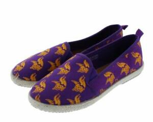 FOCO NFL Women's Minnesota Vikings Espadrille Canvas Shoe
