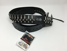 """LEVY/'S MG17DP-005  2 1//2/""""  DISTRESSED LEATHER GUITAR STRAP Faster Louder Harder"""