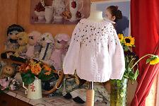 pull lili gaufrette neuf 2 ans rose avec papilles or  40% alpaga superbe a saiss