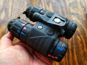 Sight Mark Ghost Hunter 1x24 NVG IR Night Vision Goggle Binocular Kit SM15070