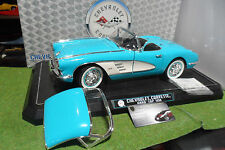 CHEVROLET CORVETTE Cabriolet hard top 1958 au 1/12 SOLIDO 1202 voiture miniature