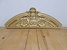 Very Large Ornate Style over door Pediment / wall Pediment Decorative Molding