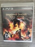 Dragon's Dogma: Dark Arisen (Sony Playstation 3, 2012) No Manual