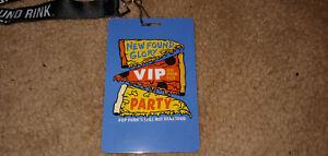 New Found Glory: Pop Punk's Still Not Dead TOUR LAMINATE SUPER-RARE!