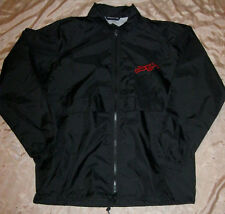 WILLIE NELSON AUTHENTIC 2012 BORN FOR TROUBLE TOUR WINDBREAKER JACKET MINT OOP