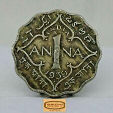 1939 British India 1 Anna, Free Shipping -  #C17064