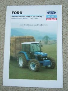 @ Ford 40 SL Series Tractor Brochure (In Portuguese)@