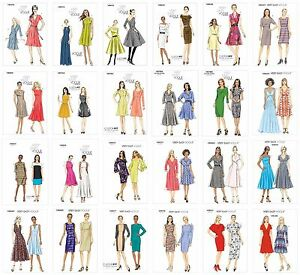 Vogue Sewing Patterns VERY EASY Misses' Business Cocktail Formal Casual Dresses