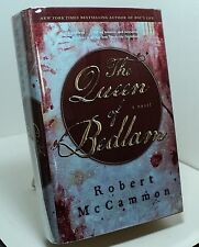 The Queen of Bedlam by Robert McCammon - First hardback edition - signed