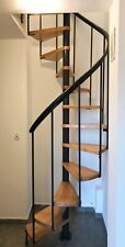 Spiral Staircases Dolle Montreal 100cm -Anthracite colour-Smallest On The Market