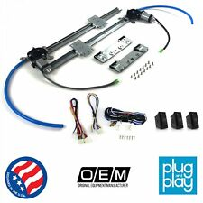 Ford Ranger 1983 - 2011 Power Window Regulator Kit w/ 3 LED Switches fomoco v8