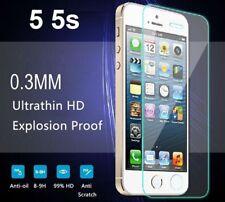 3x Panzerglas iPhone 5  9H Echtglasfolie Schutzfolie Panzerfolie iPhone 5S SE