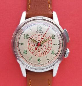 Original vintage Timex Southampton with timer function @WatchAdoption