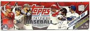 2021 Topps Factory Set MLB Baseball cards Hobby (Box)  - FACTORY SEALED, NEW