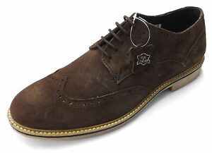 Roamers Brown Classic Retro Brogue Mod,Ska, Desert Boots/Shoes