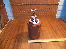 Vintage NESTLE QUIK BUNNY Chocolate Milk Mixer Pitcher - Advertising Promotion