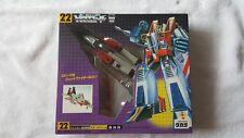 Transformers Takara Japanese G1 Reissue -22 Starscream New In Sealed