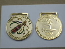 "Coca Cola ""TEAM MEMBER""  Medallions Sydney 2000 Olympic Games (VERY RARE)"