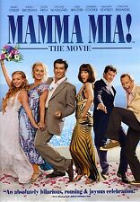 Mamma Mia! DVD Widescreen Musical Meryl Streep Pierce Brosnan & Amanda Seyfried