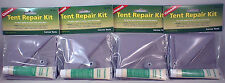 4 PACK TENT REPAIR KITS-FOR QUICK REPAIRS TO CANVAS TENTS AND SCREENS