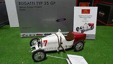 BUGATTI TYP 35 GP Nation colour project Polen 1/18 CMC M-100-B-003 voiture minia