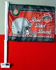 Ohio State OSU Scarlet & Gray ROSE BOWL Car Flag Banner