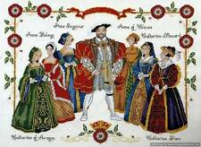 DMC Cross Stitch Kit - Henry VIII & Six Wives K3403
