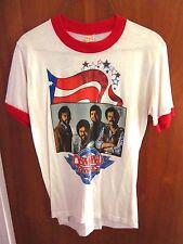 OSMOND BROTHERS vtg tour ringer T shirt 1984 youth med tee America Fest Merrill