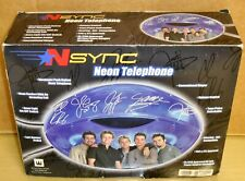 2001 Zeeks Inc - N-sync Neon Telephone - Rare! Nm/Mib