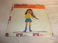 DDR Schallplatte für Vorschulkinder Vinyl LP SCHOLA 8 75 040 Kinderlieder 1974