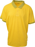 Timberland Men's Yellow S/S Polo Shirt (Retail $55) S01