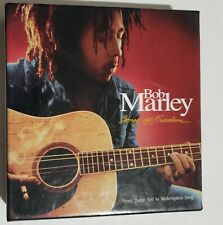 Bob Marley Songs of Freedom Songbook -Original- 4 CDs and booklet about his life