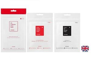 Cosrx Acne Pimple Master Patch, AC Collection & Clear Fit Acne Spot Patches [UK]