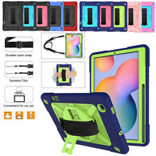 Shoulder Strap Case For Samsung Galaxy Tab S6 Lite P610 P615 Tablet Stand Cover