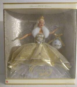 Celebration Barbie Doll Mattel Holiday  Special Edition 2000 Millennium