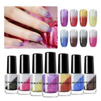 NICOLE DIARY 6ml Holographicss Thermal Nail Polish Water Based Nail Art Varnish