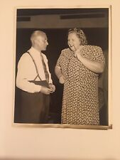 Vintage Studio Photo Kate Smith Columbia Broadcasting System Publicity