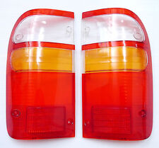 2 x REAR TAIL BACK LIGHTS LENSES FOR TOYOTA HILUX TAIL LIGHTS 2003-2004 LH RH 04