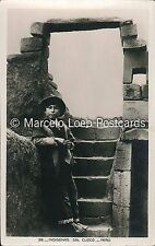 PERU INDIOS INDIGENAS DEL CUZO #38 REAL PHOTO