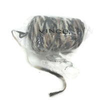 Vince Clothing Brand Skein Of Variegated Gray Tan Yarn Wool Blend Almost 1 Lb