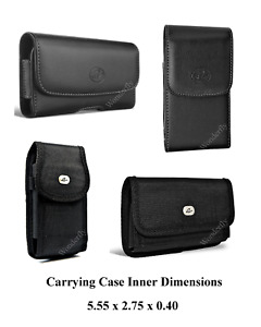Universal Pouch Case for Smartphone Up To 5.55x2.75x0.40 Inch in Dimensions