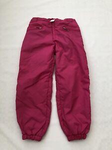 "Vintage 80's  Men's Pink Ski Trousers Sz Waist 34"" #456 - Ideal Fancy Dress"