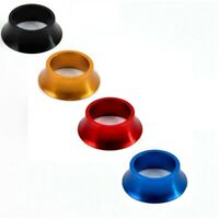 "1-1/8"" Aluminium Alloy Road Bikes HeadSet Washer Cover Conical Stem Spacer 15mm"