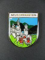 Candado Neuschwanstein Füssen, 4cm Imán Metal Recuerdo Alemania